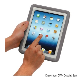 SCANSTRUT watertight case for iPad