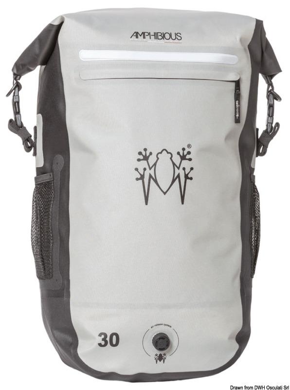 61cb1062fdab1 Lekki i wygodny plecak wodoszczelny AMPHIBIOUS Overland light