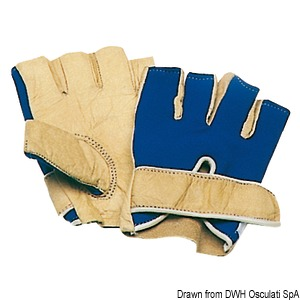 Sailing gloves - short finger title=