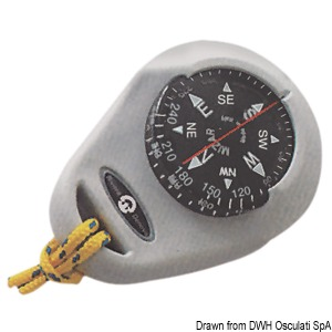 RIVIERA compass Mizar w/soft casing grey