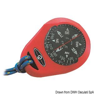 RIVIERA compass Mizar w/soft casing red