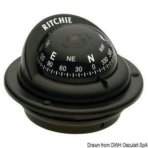Компасы RITCHIE Trek 2'' 1/4 (57 мм) с компенсаторами и подсветкой title=