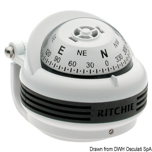 RITCHIE Trek 2'' 1/4 (57 mm) compasses with compensators and night lighting title=