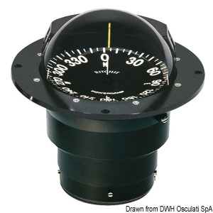 RITCHIE Globemaster 5'' (127 mm) compasses with compensators and night lighting title=