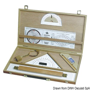 Wooden charting kit