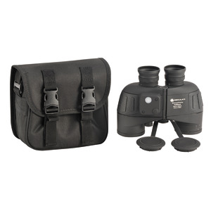 Professional binoculars 7x50 fitted with compass title=