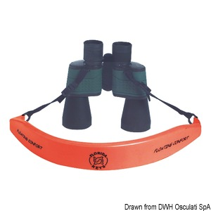 Binocular floating shoulder strap title=