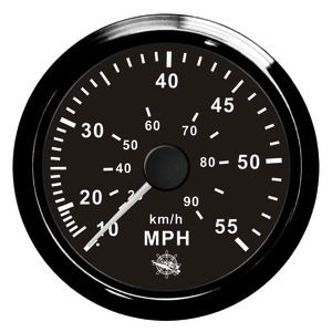 Speedometer with (water pressure ) Pitot tube title=