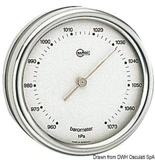 Strumenti Barigo Serie Orion orologio al quarzo 102 mm