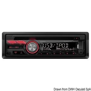 CLARION CZ215E radio receiver title=