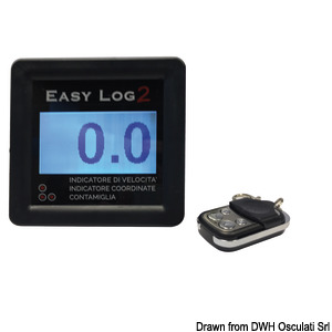 Speedometers and LOGs without transducer