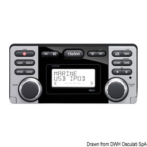 DVD/USB watertight marine receiver - CMD8 title=