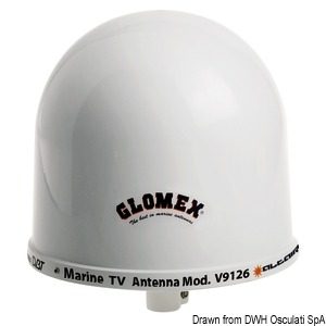 GLOMEX Altair AGC TV antenna title=
