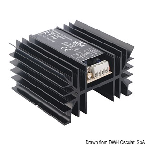 DC-DC voltage electronic converter