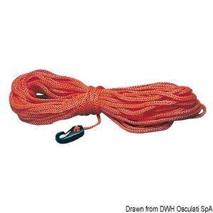 Σχοινί από λεβιλένιο πλωτό για προσάρτηση πλωτήρα δύτη