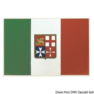 Selbstklebende italienische Flaggen