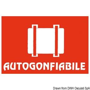 Adesivo CE autogonfiabile