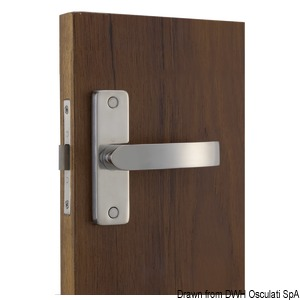 AISI 316 stainless steel built-in locks