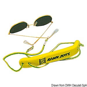 Floatable cord for sunglasses title=