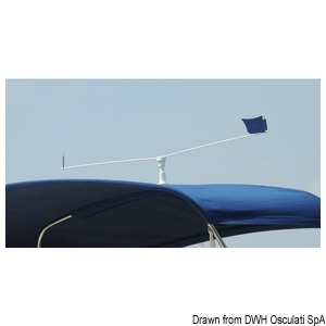 STOPGULL support for Bimini tops and handrails title=