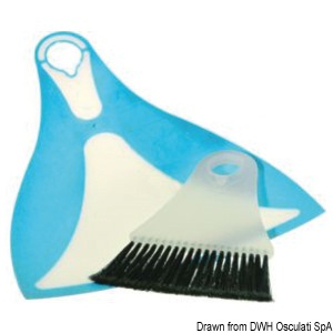 YACHTICON Dustpan mini-broom title=