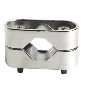 AISI 316 mirror polished stainless steel clamps title=