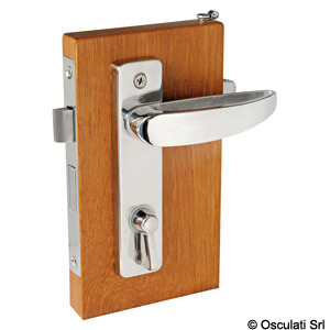 With internal lock and external emergency lock (for toilets and cabins) title=
