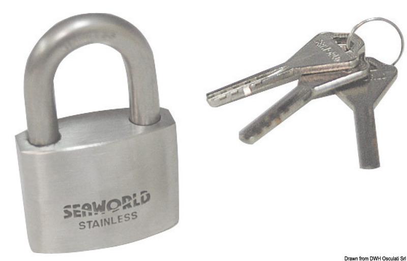 Heavy duty burglar-proof locks with Fisher key