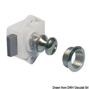Mini push-lock
