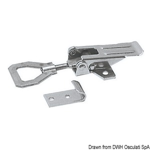 Locking with adjustable stainless steel lever title=