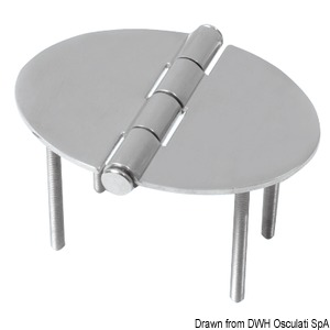 Oval hinges