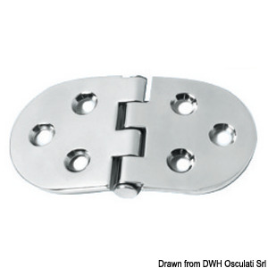 Hinges 3 mm thickness ; HEAVY DUTY