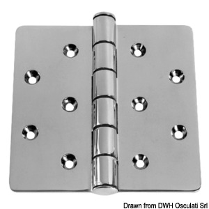 Stainless Steel hinges - Investment Cast