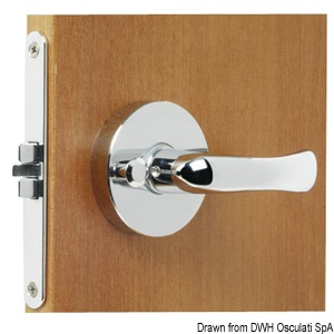 Antivibration recess fit reversible lock (RIGHT-LEFT) title=