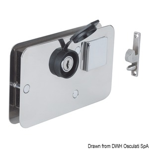 Universal RIGHT/LEFT lock for sliding doors title=