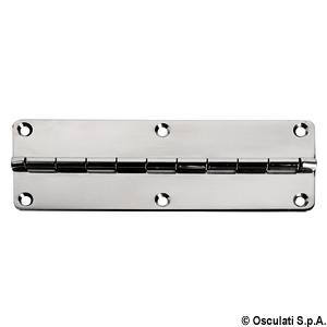 Short piano hinge