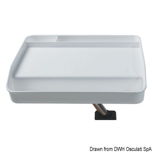 Tackle and bait tray