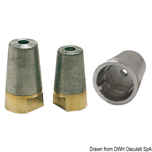 Propeller anodes, new Radice type from 1996