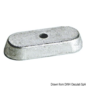 Anode leg for Selva 6/8/9.9 HP 4 strokes title=