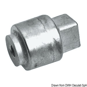 Anode cylinder for Yamaha 80/200 HP Selva title=