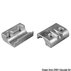 Anode for 40/50 HP 4-stroke outboard engines title=