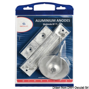 Anode kit for Honda outboards title=
