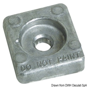 Zinc anode for Honda 8/20 HP