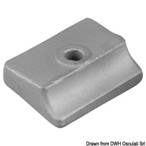 Anode plate for 9.9-15 Hp 2 strokes + 8/9.9/15 4 strokes title=