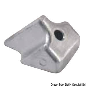 Anode for 4 - 8 HP outboard engines