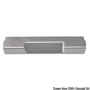 U-shaped anode for Outboard Motor 60/300 HP title=