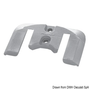 Anode plate for Bravo