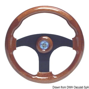 Mahogany steering wheel title=
