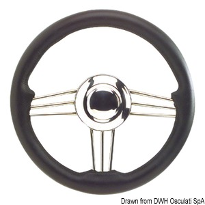 Mirror polished SS steering wheels title=