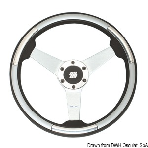 ULTRAFLEX Ponza/Linosa steering wheel 350 mm